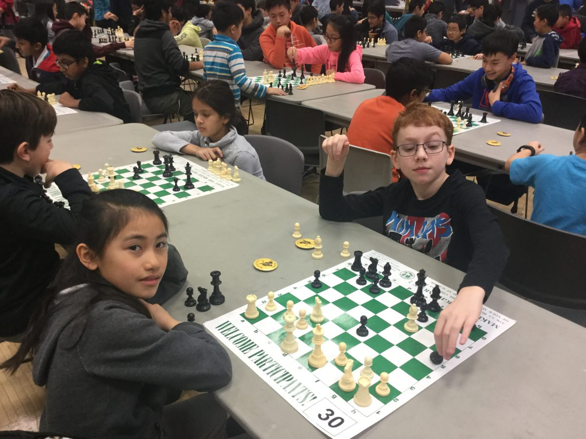 At the Chess Tournament