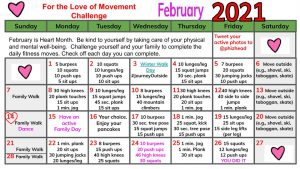Heart Month Fitness Challenge